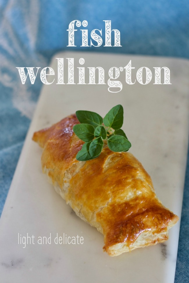 fish wellington - light & delicate
