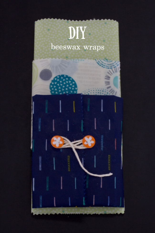 diy beeswax wraps (easy-to-make)