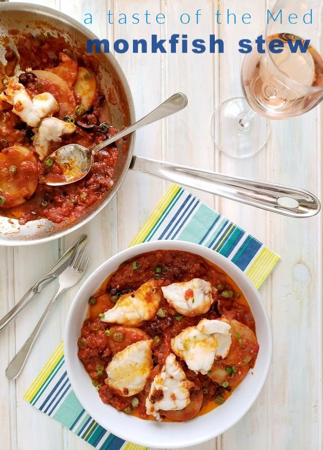 monkfish stew - a taste of the Med