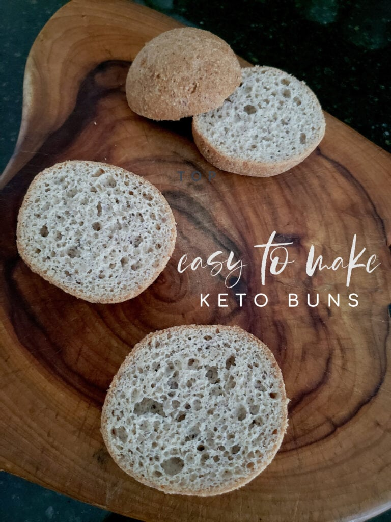 easy to make keto buns