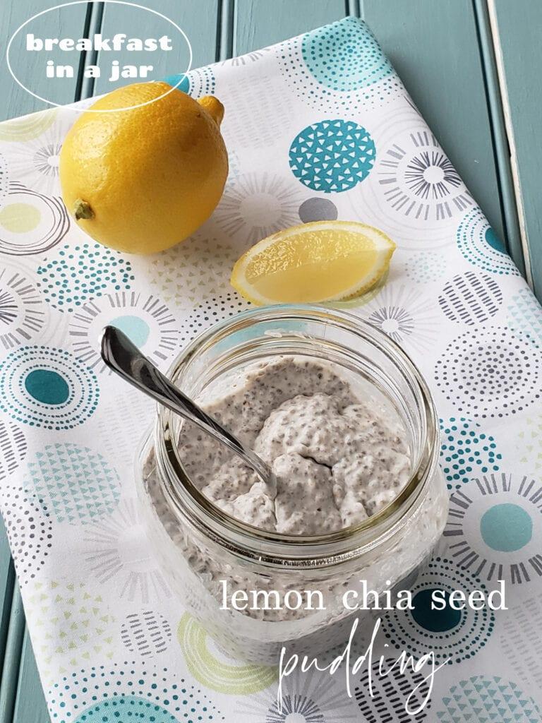 lemon chia seed pudding